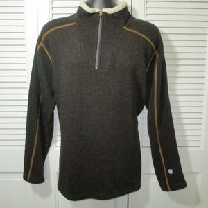 Kuhl Alfpaca 1/2 Zip Fleece Pullover Men L